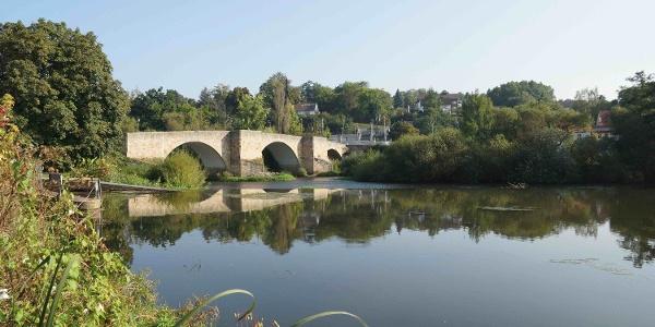Schleifenroute - Bartenwetzer Brücke Stadt Melsungen