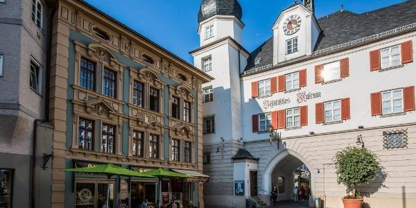 Mittertor und Städtisches Museum Rosenheim