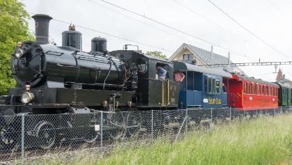 Historische Eisenbahn in Mammern