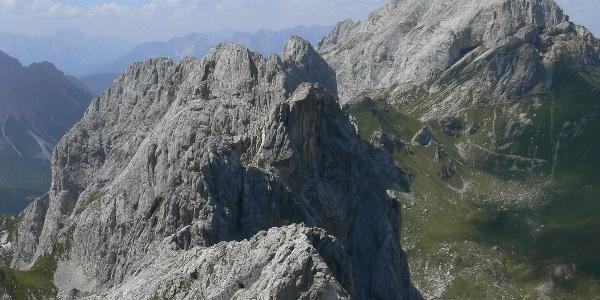 Panorama verso il Chiadènis e il Peralba