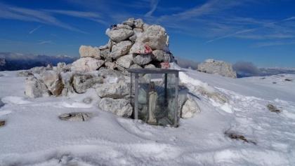 Gipfel des Monte Cimone