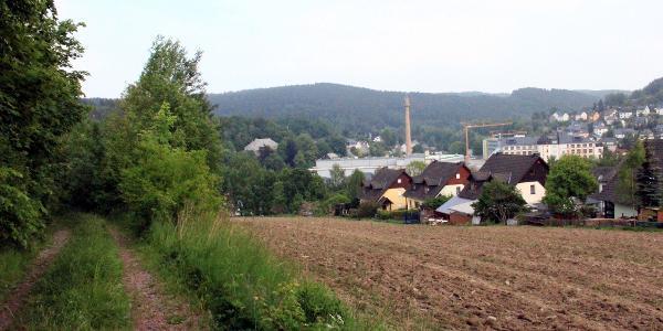 Blick auf Gornsdorf