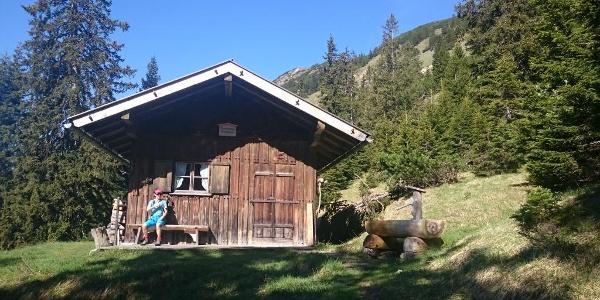 Kuchelberg Diensthütte - Wasser auch im Herbst