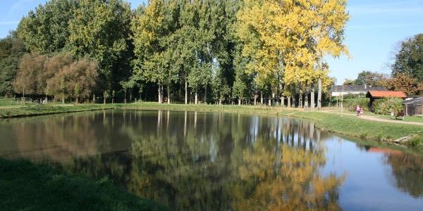 Regenrückhaltebecken in Bühren