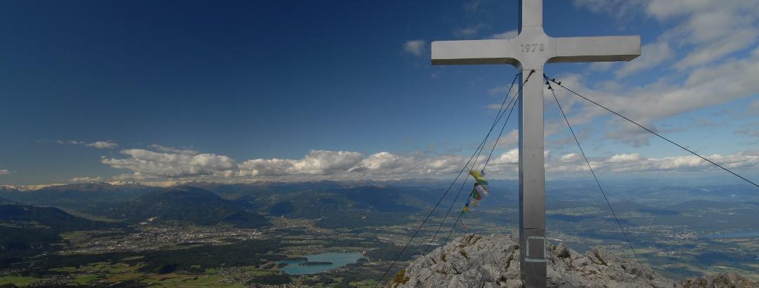 Blick auf die Region Villach