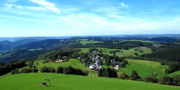 Aussicht Wildewiese Schombergturm