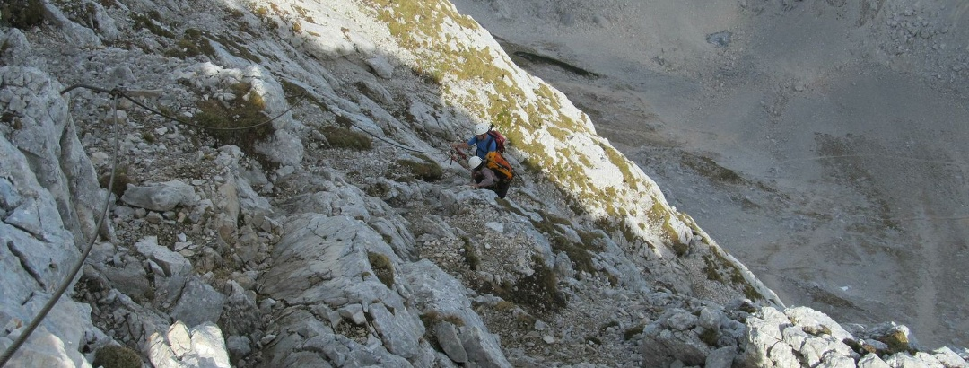 Spitzmauer (2446m) vom Prielschutzhaus über den Stodertal-Klettersteig