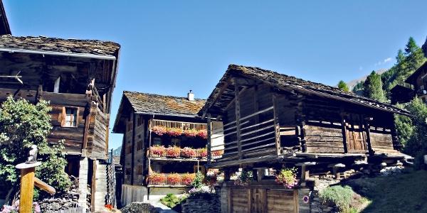 Village Les Haudères in Val d'Hérens