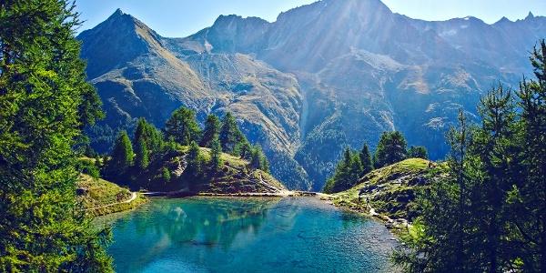 Lac Bleu in Arolla