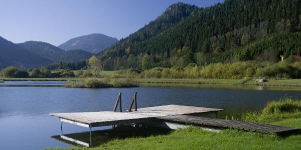 Die Teichanlage Urani im Naturpark Mürzer Oberland