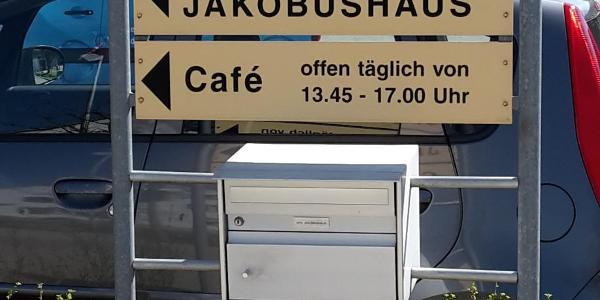 Erinnerung an Jakobsweg am Hauensteinweg