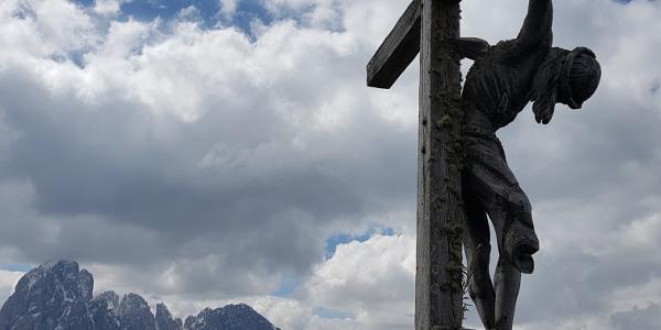 Gipfelkreuz auf Seurasas