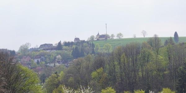 Blick auf den Glockenberg | Foto: S. Grüning
