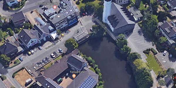 3. Rast bzw. Treffpunkt Wallfahrtskirche St. Katharina in Buschhoven