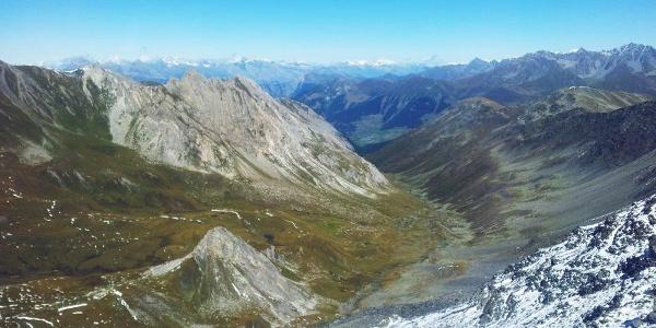 View to the valley «La combe de l'A»