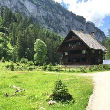 Niedere Holzmeisteralm mit Jagdhaus