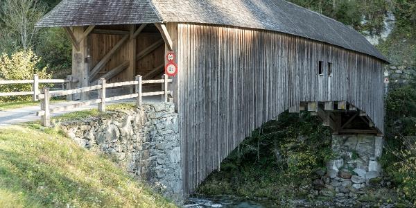 Holzbrücke Rueun