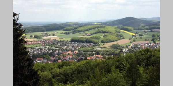 Luftbild aus Borgholzhausen