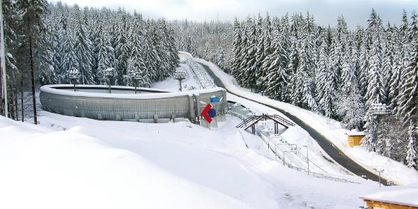 SachsenEnergie Eiskanal Altenberg Rennschlitten- und Bobbahn