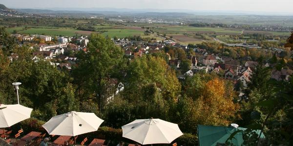 Panoramaterrasse des Schlosskellers