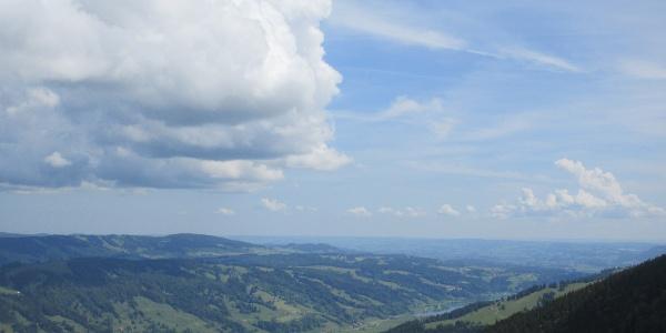 Konstanzer Tal in Richtung Immenstadt