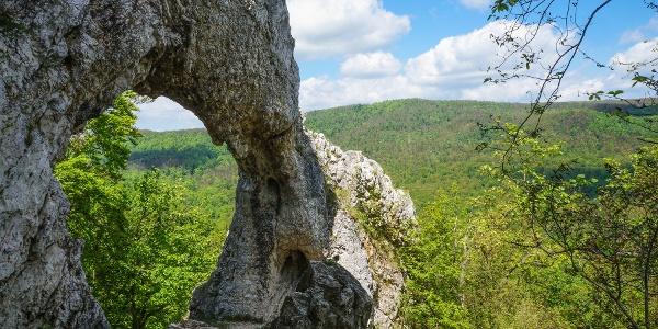 A Vaskapu vedregényes sziklaboltíve