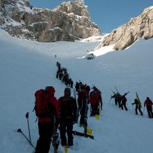 Mammut Germany - Dammkar Westliche Karwendelspitze • Ski