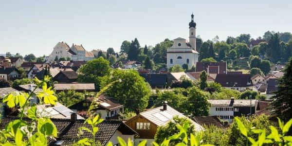 Themenweg - Kunstspaziergang durch Murnau - Das Blaue Land