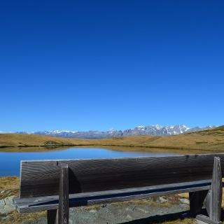 Lac de montagne «Gebidumsee»
