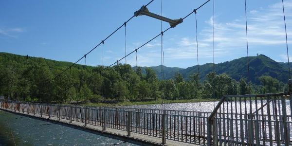 Brücke am Anfang und Ende der Tour