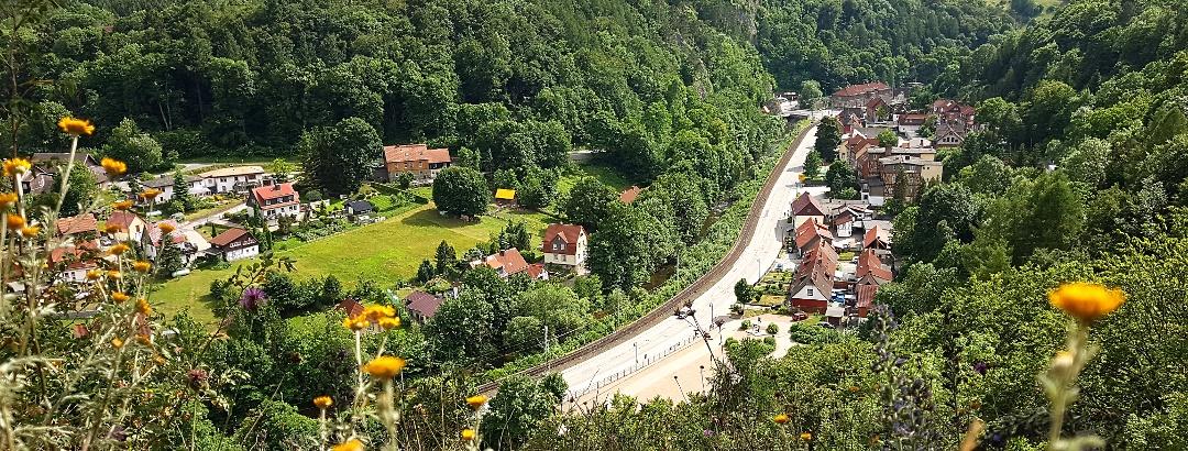 Schornsteinberg - Blick auf Rübeland