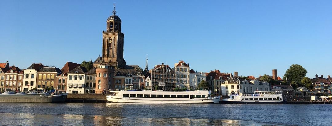 Blick auf Deventer