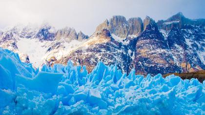 Gletscher in Patagonien