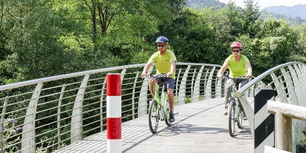 Ponte lungo la ciclabile