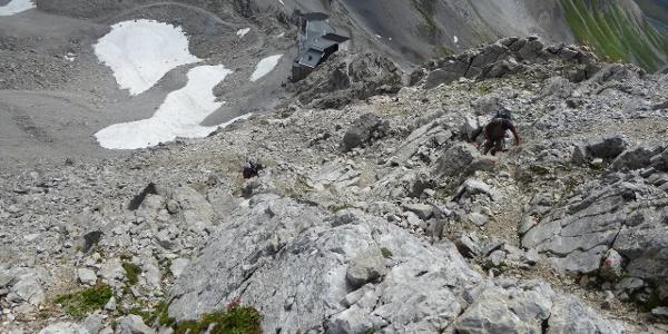 Bergstation Valugabahn