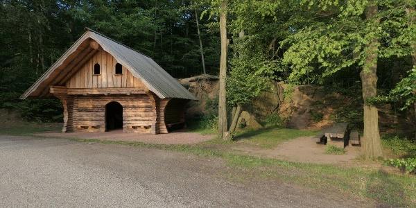 Schutzhütte am Altenteich