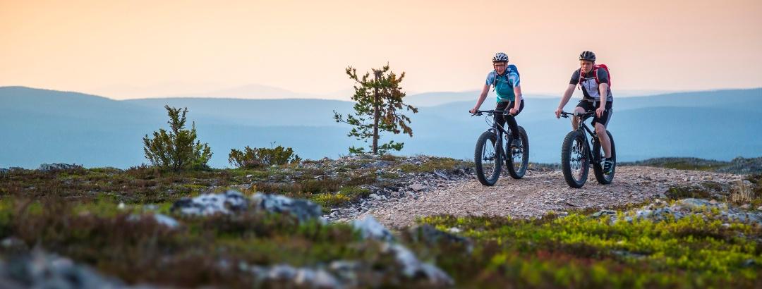 Mountainbiken in Ylläs
