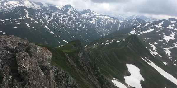 Am Gipfel des Weißeck