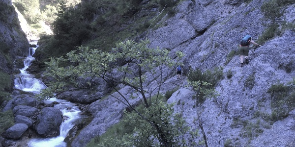 Wasserfallsteig
