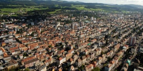 La Chaux-de-Fonds/Le Locle Stadtlandschaft & Uhrenindustrie