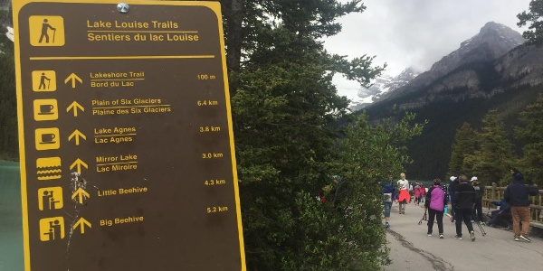 Some of the first trailmarkers