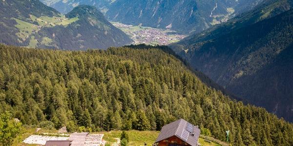 Gamshütte oberhalb des Naturwaldreservates Ebenschlag