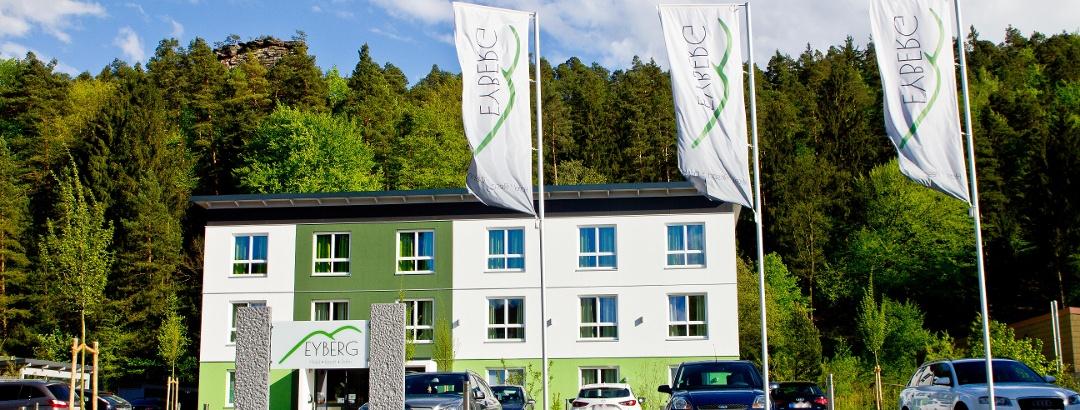 Das Hotel Eyberg von außen
