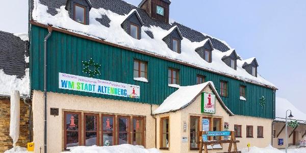 Tourist-Info-Büro Altenberg im Winter