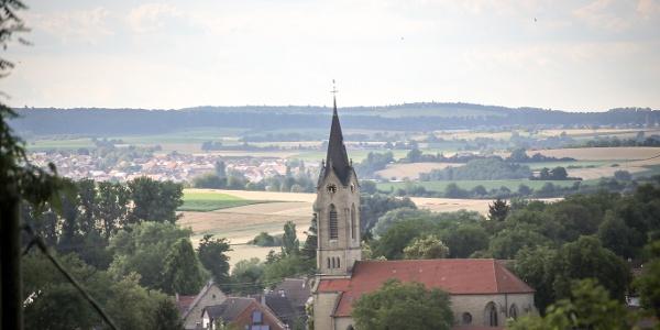 Blick auf Mühlbach