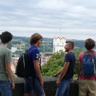 Aussichtspunkt bei der Veitsburg