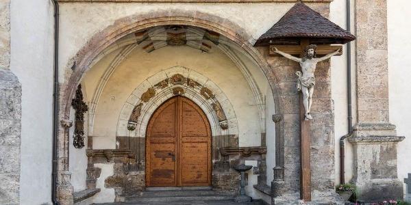 Brig/Gils: Wallfahrtskirche - Goldene Pforte