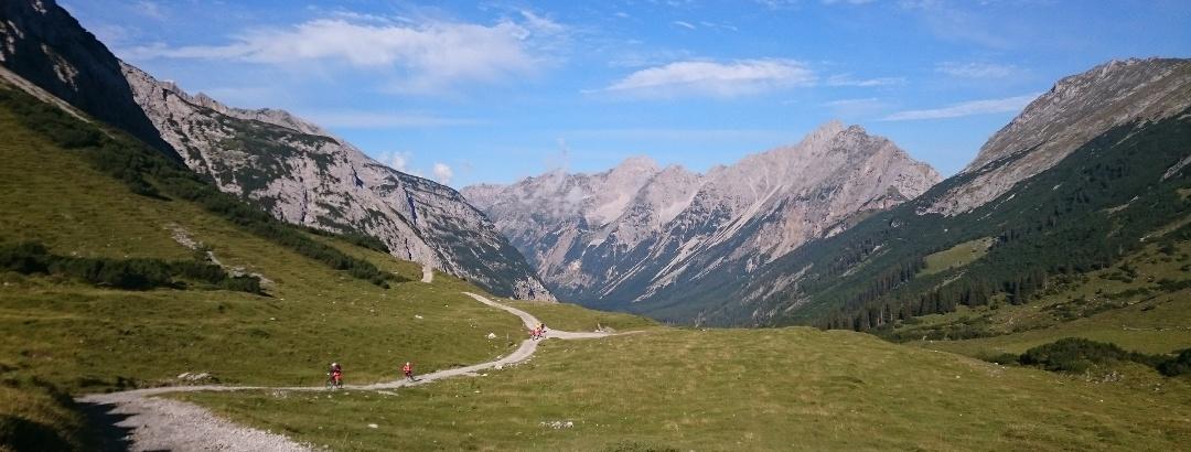 Blick ins Karwendeltal