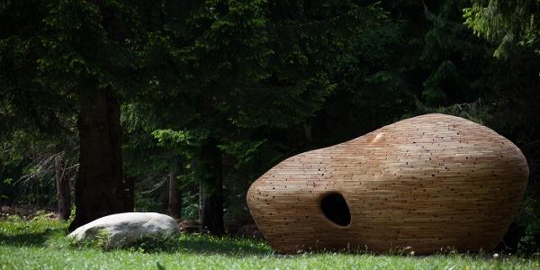 Arte Sella: Anton Schaller - Rifugio 2012