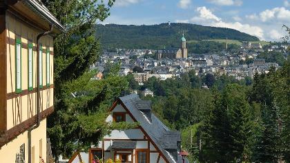 Blick von Frohnau auf Annaberg-Buchholz